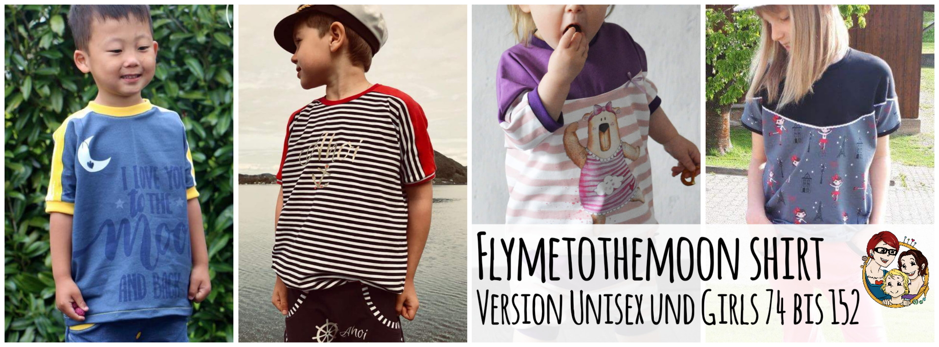 #flymetothemoon Shirt Unisex & Girls