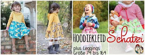 Hoodiekleid Schatzi plus Leggings