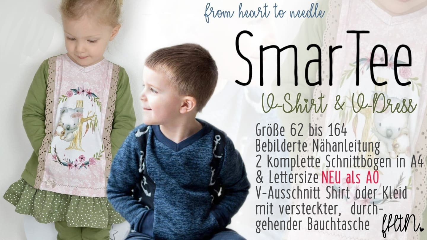 SmarTee V-Shirt und V-Dress
