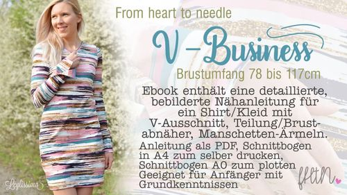 V-Business Kleid/Shirt