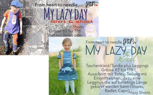 My lazy day girl&boy/unisex Kombi